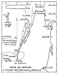 La route de l'Antilope